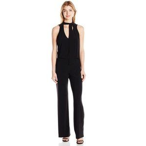 LAUNDRY by Shelli Segal Black Jumpsuit Size 2